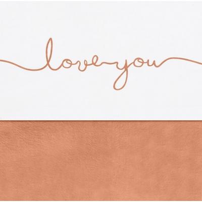 Laken 120x150cm Love you caramel