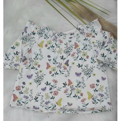 Shirt met roezel