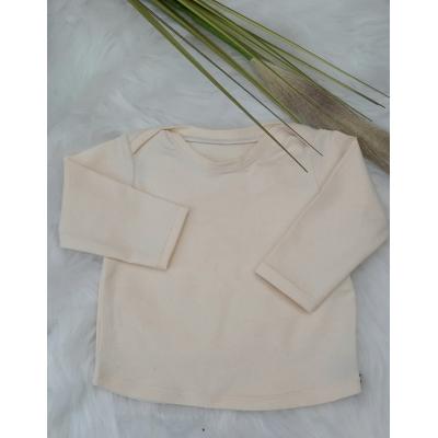 t-shirt met overslag schouders