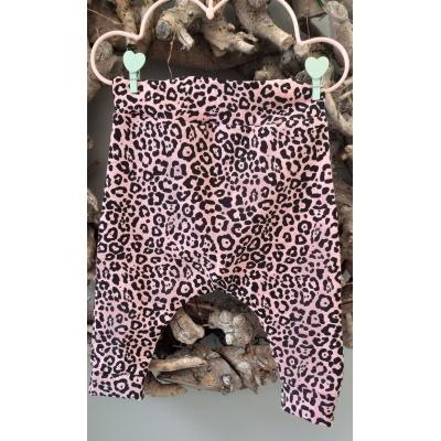 Broekje tijger zwart/roze