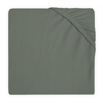 Jollein hoeslaken  60x120cm ash green
