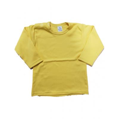t-shirt oker/mosterd geel