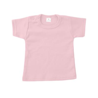 t-shirt roze met korte mouw