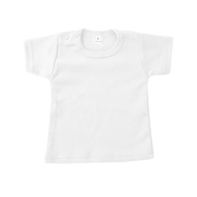 t-shirt wit met korte mouw