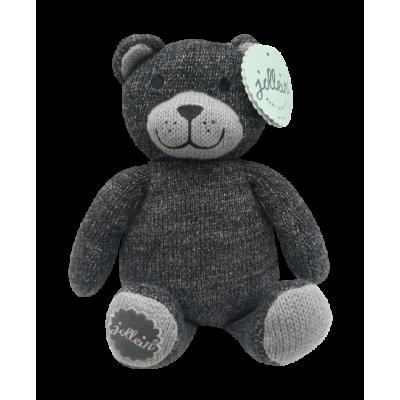 Jollein Knuffel Natural knit bear anthracite