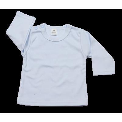 t-shirt licht-blauw