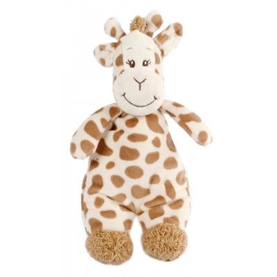 Knuffel met rammelaar Giraffe